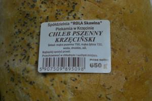 etykietka chleba krzecinskiego