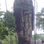 Madonna pod Baldachimem przed remontem